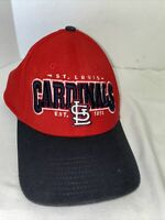 Men's St Louis Cardinals 39Thirty New Era Fitted Baseball Hat Cap MLB Red M-L