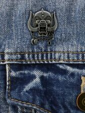MotorHead Official War Pig Metal Pin Badge Rock Lemmy Skull Symbol Album