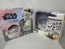 Star Wars The Mandalorian Deluxe Activity Set And Undated 12 Month Planner Set