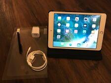 Apple iPad Mini 3 16GB Gold White Wi-Fi Bundle - EXCELLENT CONDITION -