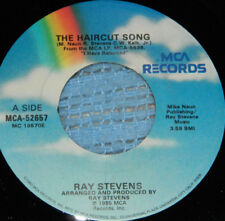 Ray Stevens on MCA Records / 45 Rpm / The Haircut Song / Punk Country Love