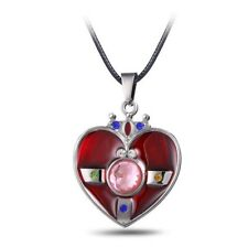 1Pc Sailor Moon Comic And Animation Heart Shaped Alloy  Fashion Necklace