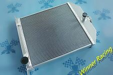 FIT Ford CAR W/Chevy 350 V8 Engine Auto 1942-1948 aluminum alloy radiator