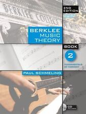 Real, paperback book:  BERKLEE MUSIC THEORY, Book 2 (CD Included)  9780876391112
