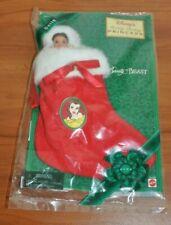 Disney Belle Holiday Stocking Vintage 1997 Avon Exclusive Mattel 16436