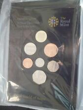 2008 ROYAL MINT ROYAL SHIELD OF ARMS 7 COIN SET STILL SEALED AS ISSUED.
