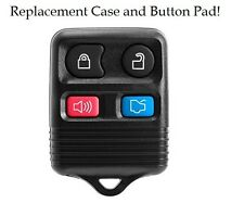 New Replacement Keyless Remote Shell Pad Button Key Fob Housing Case For Ford