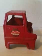 Tonka TURBINE CAB Red Fire CEMENT Semi truck for parts restoration or custom