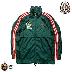 Mens adidas Mexico Classic Tracktop Windbreaker Jacket Maglia Vintage Soccer