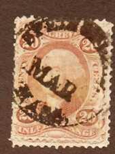 US Stamps, Scott R42c, Internal Revenue, Inland Exchange 20 Cent, Used