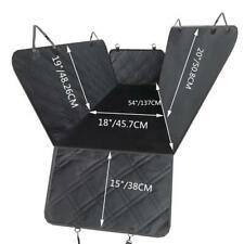 Waterproof Dog Car Seat Cover Hammock For Pet Car Suv Rear Bench Pad Mat Cover
