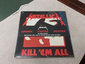 """METALLICA """" Kill'em all """" 2 X 45"""