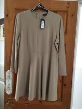 Womans Dress Sz 18. New & tags. M&S Make. Camel Colour.