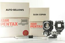 【 BOXED Almost UNUSED 】 ASAHI Pentax Auto Bellows Set & Slide Copier from JAPAN