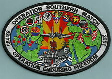 CVN-65 USS ENTERPRISE VF-41 OPERATION SOUTHERN WATCH 2001 CRUISE PATCH