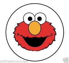 "63 Elmo Sesame Street Envelope Seals / Labels / Stickers 1"" Round"