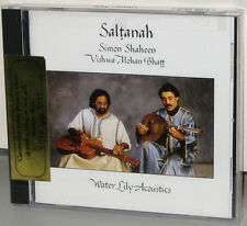 WATER LILY GOLD WLA-ES-51-CD: Saltanah - Simon Shaheen, Bhatt etc. - OOP USA SS
