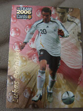 Team 2006 Cards LUKAS PODOLSKI glänzend 1. FC Köln FC Bayern München FCB Fußball