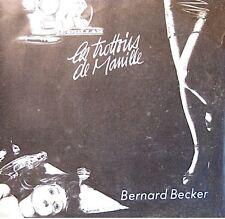 BERNARD BECKER les trottoirs de manille/je peux en placer une SP 1984 RARE EX++