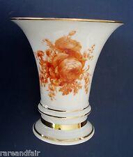 Furstenberg  Germany vase - gold floral design ca 1920s