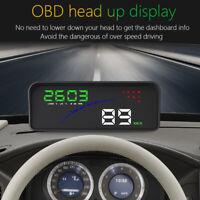 P9 Car HUD OBD2 Smart Digital Speedometer Windshield Projector Head Up Display