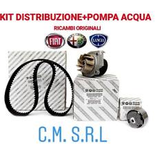 KIT CINGHIA DISTRIBUZIONE ORIGINALE + POMPA ACQUA ALFA ROMEO GIULIETTA 1.4 GPL