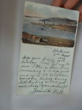 More details for postcard  p10 a11 rusticating  scalloway shetland court size pcd  & postmarks