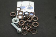 Ösen mit Scheiben 5 mm Ø inklusive Anleitung und Werkzeug in Silber OVP