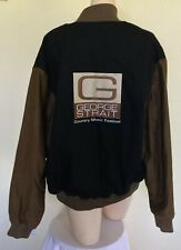 George Strait Country Music Festival Full Front Zip Jacket- Size Large