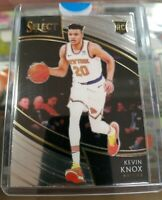 2018-19 PANINI SELECT KEVIN KNOX COURTSIDE ROOKIE RC NEW YORK KNICKS