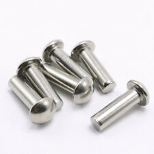 M4 stainless steel rivets half round head solid percussion rivet 4-50mm Length