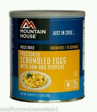 1 Can - Scrambled Eggs with Ham - Mountain House Freeze Dried Emergency Food