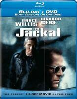 The Jackal (Blu-ray / DVD, 2010) Bruce Willis and Richard Gere NEW