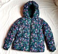 NWT Gymboree Girls' Winter Jacket Size L 10-12 mushrooms Pattern