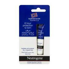 Neutrogena 6hour Protection Lip Balm for Dry Chapped Lips 15ml (buy 1 2 3 or 6) 6 Lip Balms
