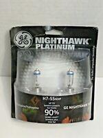 Headlight Bulb-Nighthawk Platinum Twin Blister Pack GE Lighting H7-55NHP/BP2