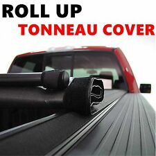 "Lock Roll Up Soft Tonneau Cover For 2004-2013 Ford F-150 6.5' FT 78"" Bed"