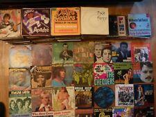 "Große Schallplatten - Vinyl - Sammlung Singles 7"" Vinyl - 500 Platten"
