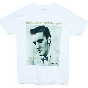 The Smiths Shoplifters Alternative Rock New Wave Music T shirt Classic  Fit Top