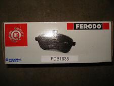 PLAQUETTES FREINS FERODO FDB1635 - AUDI A3 - VW GOLF ... BRAKE PADS