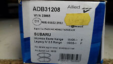 Subaru Impeza Estate 05- Legacy IV 2.5 03- Front Brake Pads New