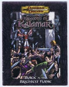 Black as the Brightest Flame (Kingdoms Kalamar D&D 3.5 d20 adventure 2005 Kenzer