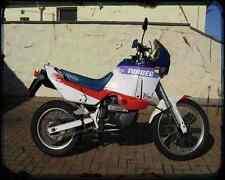 Aprilia Tuareg 600 Wind 90 03 A4 Metal Sign Motorbike Vintage Aged