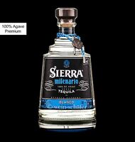 SIERRA Tequila Milenario Blanco Silver - 100% Agave Reserva Suprema - Mexiko