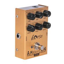 More details for guitar effects pedal american sound electric fd 57 dc +9v 5ma deluxe amplifier