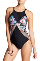 NEXT Botanix Soft Cup One-Piece Swimsuit Size M Medium
