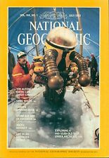 *NATIONAL GEOGRAPHIC MAGAZINE JULY 1983 - Automobile  Wales  China Zones  Arctic