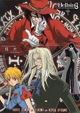 Hellsing Hell Sing Doujinshi Dojinshi Comic Hydrophobia Alucard Seras All Chara
