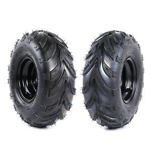 2 of 145/70- 6 Wheels Tyre Rim 50/70/90/110/125cc Quad Bike ATV Buggy GO kart