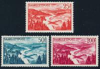 SAARLAND 1948, MiNr. 252-254, 252-54, tadellos postfrisch, Mi. 47,-